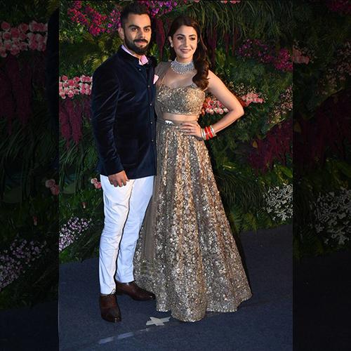 Virat Kohli and Anushka Sharma's grand Mumbai reception!