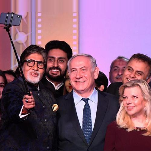 """""""The world loves Bollywood, I love Bollywood""""- Israeli Prime Minister"""