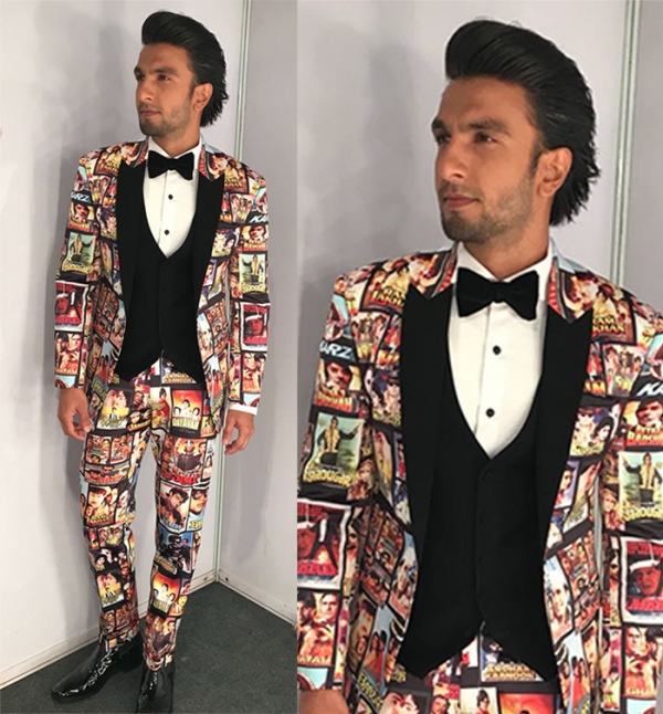 ranveer singh red carpet
