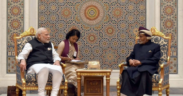 India signed a pact with Oman