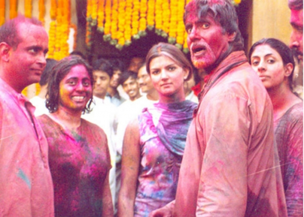 bachchan holi party