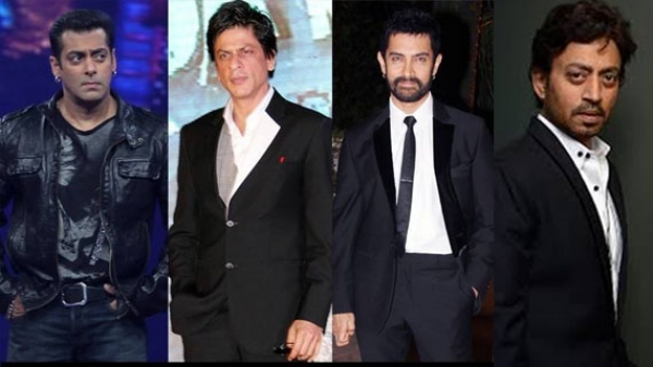 shahrukh irrfan and salman and aamir