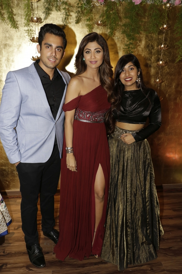 Gorgeous Shilpa Shetty Graces Her Presence At The Launch Of Luxury Bespoke Couture Label Aroka By Shweta And Karan