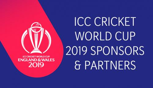 ICC Cricket World Cup 2019 Sponsors & Partners