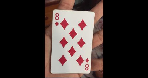 This Revelation About The 8 Of Diamonds Card Has Twitter Shocked And Confused