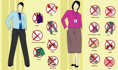 Tips for 4 Types of Office Dress Code Policies