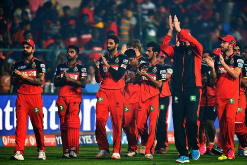 Royal Challengers Bangalore Vivo IPL Players List