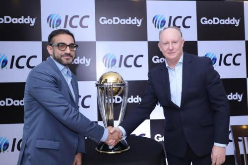 ICC Partners With GoDaddy As Official Sponsor Of The Men's Cricket World Cup 2019