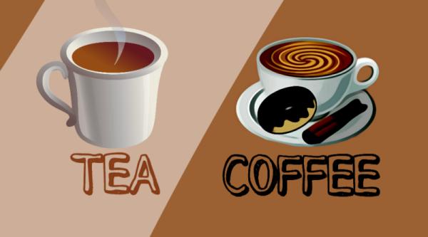 tea and coffe