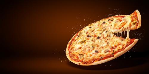 फास्टेस्ट पिज़्ज़ा मेकर प्रतियोगिता - 27 सेकंड का रिकॉर्ड, क्या आपने खाया है ऐसा पिज़्ज़ा