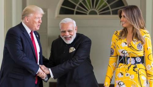 (Howdy Modi) - 'शेयर्ड ड्रीम्स एंड ब्राइट फ्यूचर - इंडिया अमेरिका स्टोरी
