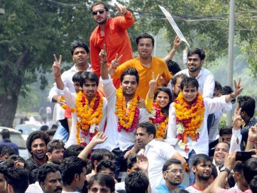 दिल्ली यूनिवर्सिटी छात्रसंघ चुनाव 2019
