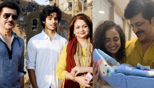 50 प्लस की उम्र में राजेश खट्टर बने बाप -  पत्नी वंदना सजनी के साथ किया बच्चे का स्वागत