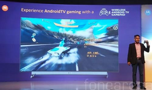 motorola announces 4k android tvs in india to fend off chinese rivals