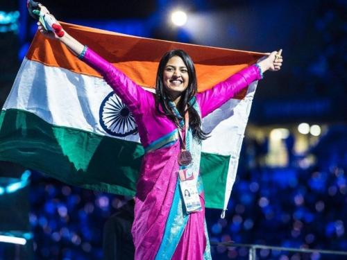 45th World Skills Competition - Shweta Ratanpura created history - made the country proud