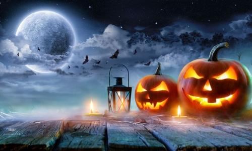 halloween festival on 31 october, 2019