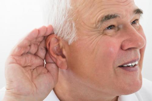 in old age, hearing loss leads to other ailments