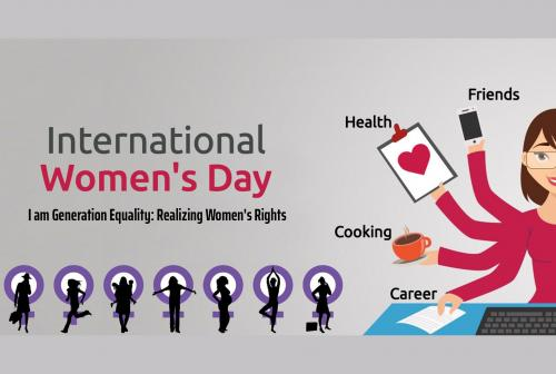 International Women's Day 8th March 2020- I am Generation Equality: Realizing Women's Rights