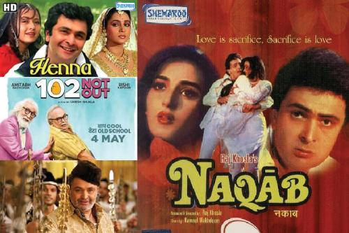 Rishi Kapoor - From Pyaar Hua Iqraar Hua to The Body  - Bollywood movies list