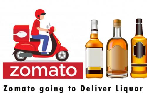 Is Zomato going to Deliver Liquor?