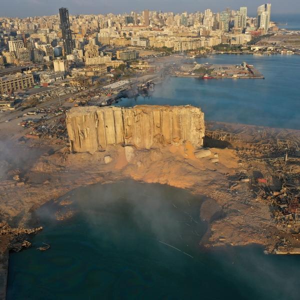 Lebanon explosion cause