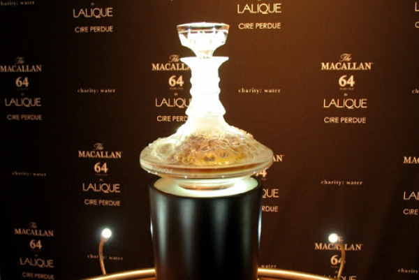THE MACALLAN 64 IN LALIQUE CIRE PERDUE