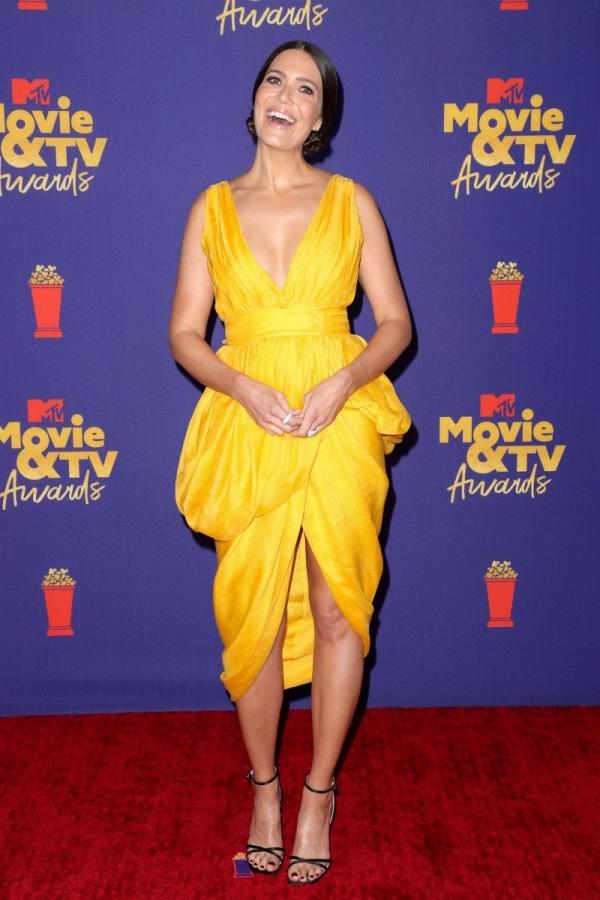 mandy moore at MTV Movie and TV awards
