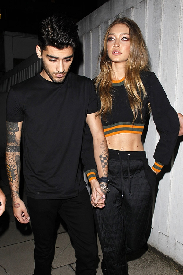 Gigi Hadid and Zayn Malik have been spotted together